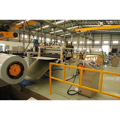 Original Factory Holt Hoop Iron Pressing Machine; - Thin Material cut-to-length line – Ritec