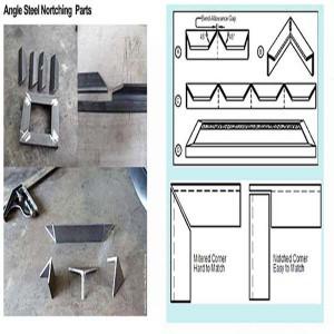 CNC Angle Steel Hydraulic Cutting Machine