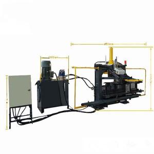 U Steel Bar Pressing Machine